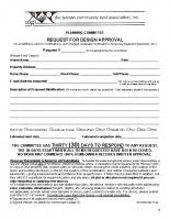 PC Request for Design Approval Forms
